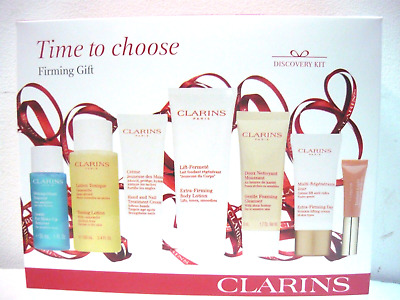 CLARINS Firming Gift 7 piece gift set New Box