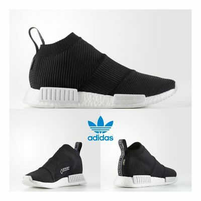 in stock ce75a afc5e ADIDAS ORIGINAL NMD PK City Sock Gore Tex Boost Shoes Black BY9405 SZ 4-11