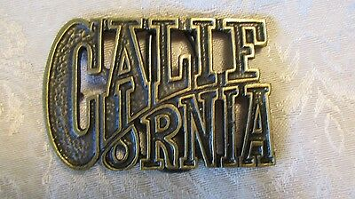 California belt buckle by chad denver co
