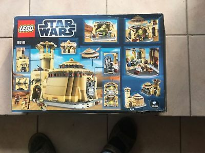 Lego 9516 Star Wars - Jabbas Palace - BRAND NEW and Sealed neuf SCELLEE