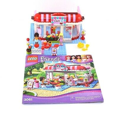 Lego Friends City Park Caf 3061 83 Complete Missing Minifigs