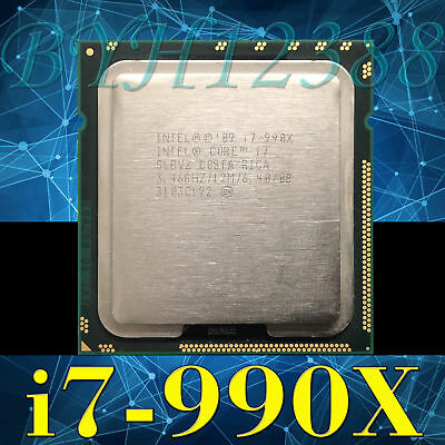 Intel Core i7-990X QS C5-I1E4I 3.46GHz 6 Core 12M 6.40GT/s Processor