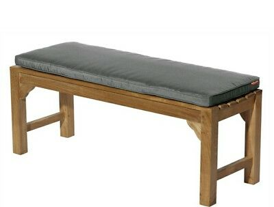 Outdoor bench seat cushion top