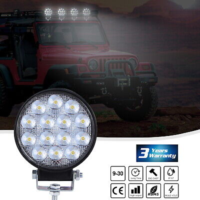 48W 5D XGODYs LED Offroad Work Light Lamp 12V Car Boat Truck Driving UTE ATV