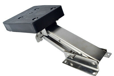 Amarine-made Stainless Steel Outboard Motor Bracket, up to 10 Hp 2 Stroke