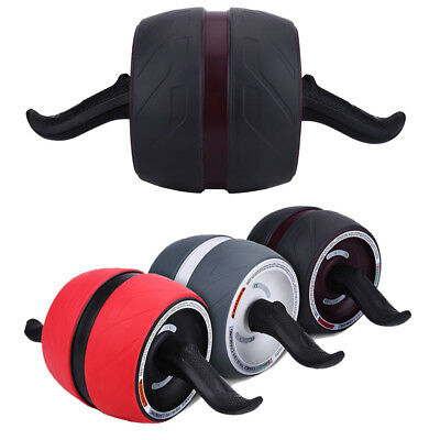 AB Roller Abdominal Exercisers Wheel W/ Knee Pad Workout Body Gym Fitness Tool