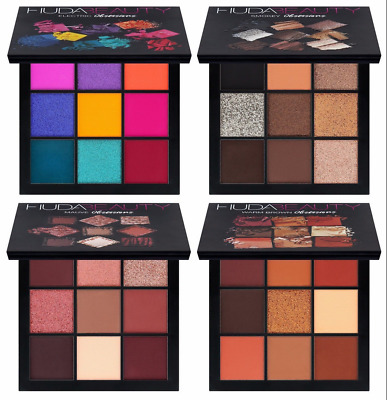 2017 new H U DA BEAUTY Obsessions Eye shadow Palette Palette NIB x mas gift