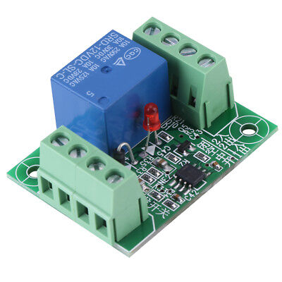 DC 12V Single Channel Bistable Circuit Trigger Switch Relay Control Module Hot