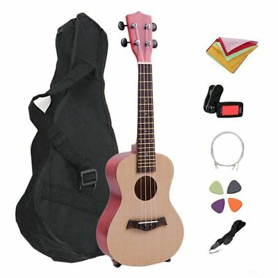 21 Inch Professional Hawaii Style Basswood 4 Strings Ukelele For Beginners WQ