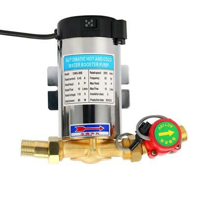 110V 90W Stainless, Self Priming Automatic Shower Washing Water Booster Pump