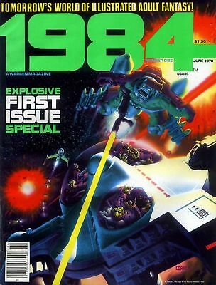 Us Comics 1984 #1-10 1994 #11-29 Collection Of Sci-Fi Fantasy Magazines On Dvd