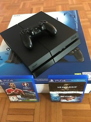 Sony playstation 4 1TB Ultimate Player Edition CUH-1216B, 1 Controller, 3 Spiele
