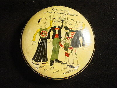 Vintage Japanese coasters drink table art unique imported rare JDM hand painted
