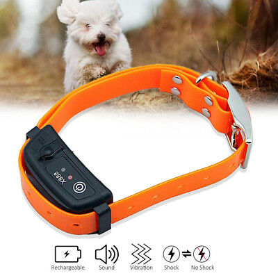 Stop Barking Electric Shock Dog Training Collar Control Vibrate E-Collar Device
