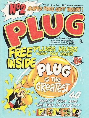Plug #1-75 Full Run Of Uk Humour Comics On Dvd Bash Street Kids Spin Off