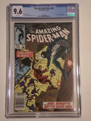 Amazing Spider-Man #265 (Jun 1985) CGC Graded 9.6 1st Silver Sable Appearance
