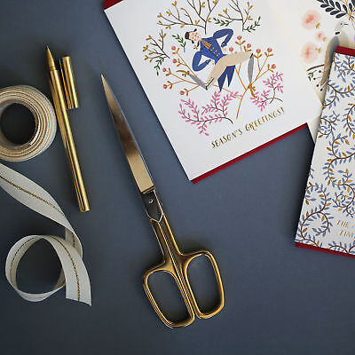 NEW Gold Plated Paper & Ribbon Scissors (Vintage) by Bespoke Letterpress
