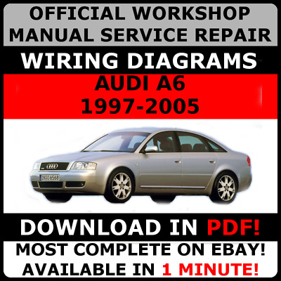 # OFFICIAL WORKSHOP Service Repair MANUAL for AUDI A6 C5 1997-2005 +WIRING #