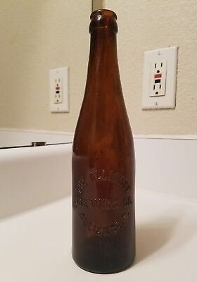 Alliance Brewing Co. Ohio Amber Blown In Mold Crown Top Beer