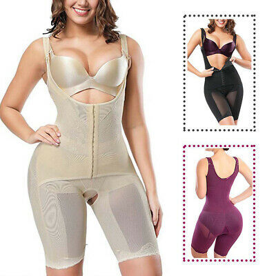 Post-Surgery Full Body Shaper Fajas Reductoras Colombianas Slimming Shapewear Lo