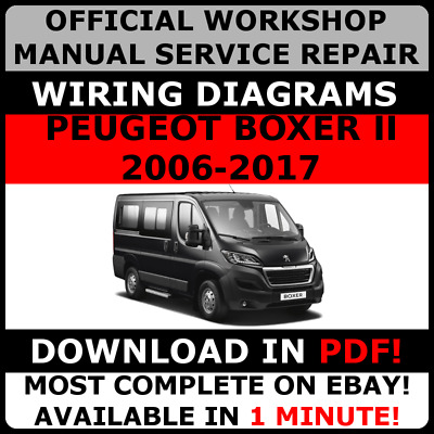 official workshop service repair manual for peugeot boxer ii 2006 rh picclick co uk
