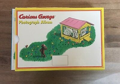 New-Curious George Box Set- Photograph Album New! Home Decor