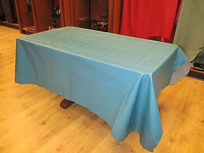 Beautiful Deep Turquoise Full Hide Good size Great for Upholstery nice Grain.