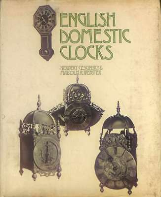 English Domestic Clocks, Webster, M.R., Cescinsky, Herbert, Good Condition Book,
