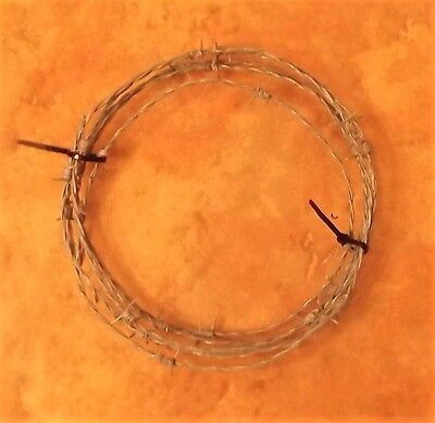 10 ft BarbWire 15.5 Gauge 5 pt BRAND NEW Barb Wire