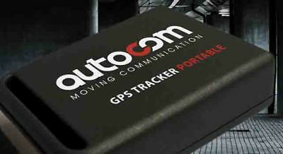 NEW Autocom GPS Motorbike Tracker Portable NO Annual Subscription Free UK Ship