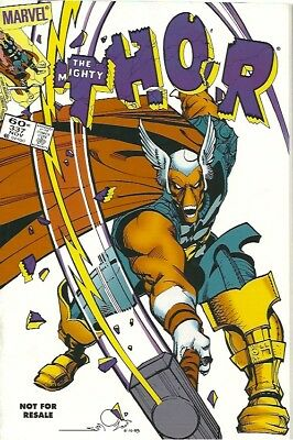 THE MIGHTY THOR #337 PROMO REPRINT. 1st APP BETA RAY BILL. (Mint)
