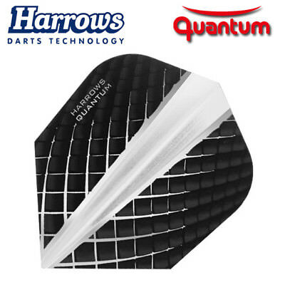 HARROWS QUANTUM Dart Flights Standard Form 100 Mikron Neuheit 2018 clear