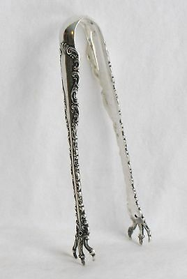 Louis XV Whiting Sterling Silver Sugar Tongs