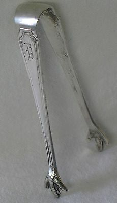 Fairfax Durgin Sterling Silver Sugar Tongs