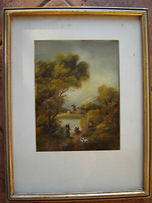 Antique 2 Of Pair 19Th C. Signed Oil Painting Listed Otto Von Thoren [1828-1889]