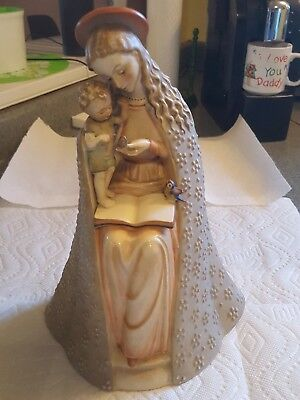 "Hummel, Goebel - ""Flower Madonna and Child"" - # 10/3 11.5in"