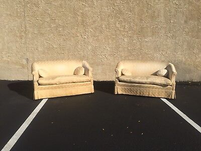 Pair of Antique Loveseats for reupolstery