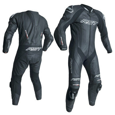 RST Tractech Evo 3 CE Black / black Motorcycle One Piece Leather Suit All Sizes