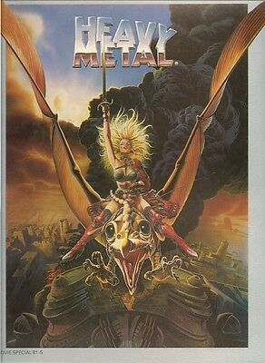 HEAVY METAL: The Art of the Movie, program:  high grade, free mail?