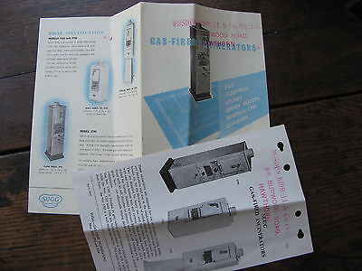 Sugg Gas Fired Incinerators Pamphlet