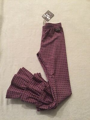 NEW Matilda Jane Friends Forever Caroline Ruffled Benny Leggings 8 NWT