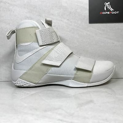 1513c9b01dcf DS NIKE LEBRON Soldier 10 X SFG LUX Light Bone Size 9 9.5 Size 10 ...