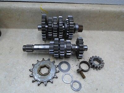 Husqvarna 250 WXE HUSKY WXE250 Used Engine Transmission Assembly 1995 RB RB32