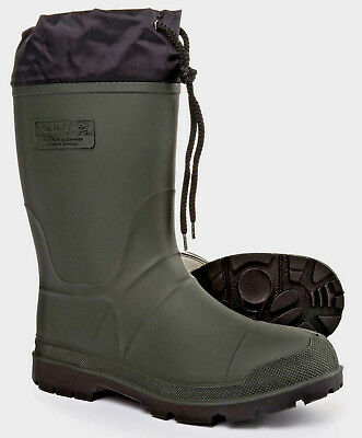 d11c8fffbe8 KAMIK GREEN WATERPROOF Rubber Rain Snow Insulated Winter Boots Men's ...