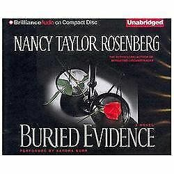NEW Buried Evidence by Nancy Taylor Rosenberg Compact Disc Book (English) Free S