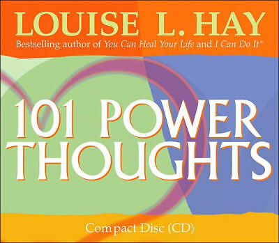101 Power Thoughts Louise Hay 9781401903961 ~  CD-Audio ~ Positive Affirmations