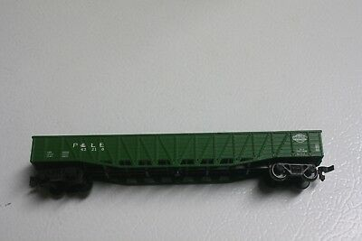 HO Scale Pittsburgh and Lake Erie P&LE #43201 50' Braced Freight Car