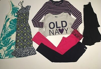Girls Size 7-8 Mixed Clothing Lot OLD NAVY CHILDRENS PLACE
