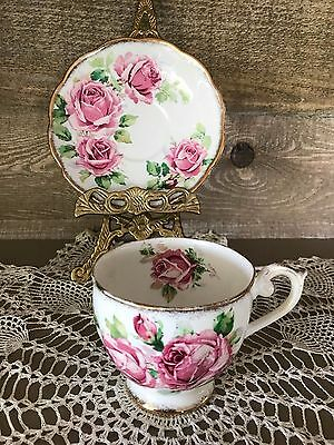 Vintage Queen Anne Lady Margaret Fine Bone China Tea Cup and Saucer