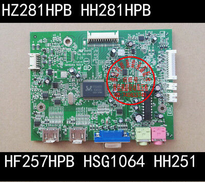1PC  Used  Tested    Hannstar   HF257HPB   HSG1064   HH251   board    #0547   YT